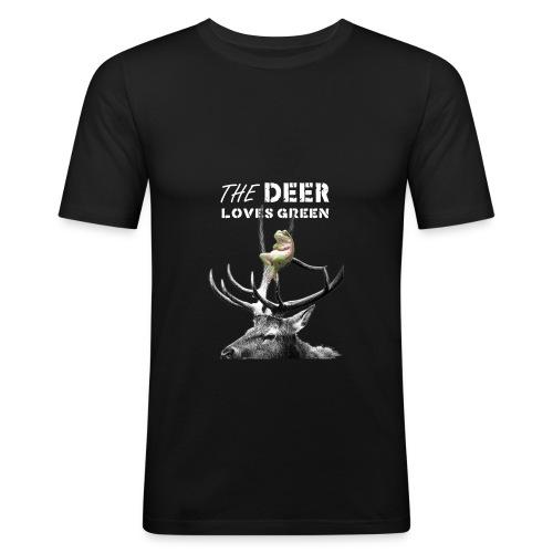 deer - slim fit T-shirt