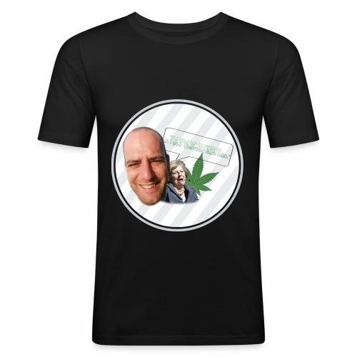 Callum's Corner - Men's Slim Fit T-Shirt