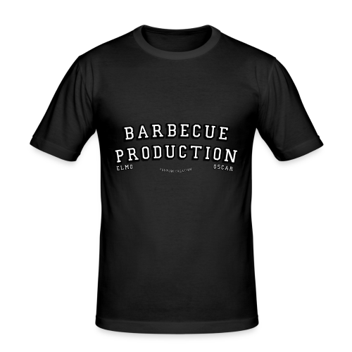 ELMO- BARBECUEPRODUCTION YOUTUBE CRETION - T-shirt près du corps Homme