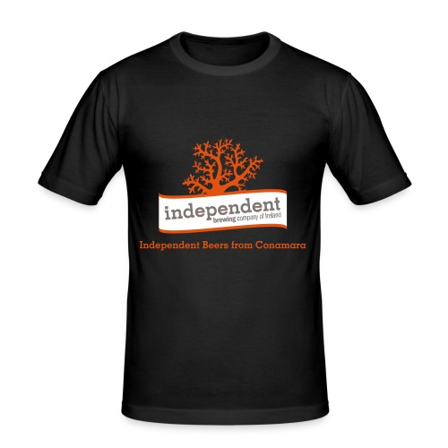 Independent Beers from Conamara - Men's Slim Fit T-Shirt