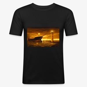Puerto - Camiseta ajustada hombre