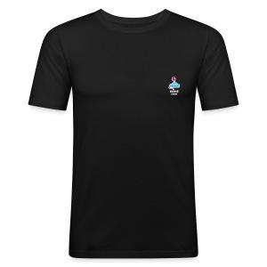 GameoverLogotekst - slim fit T-shirt