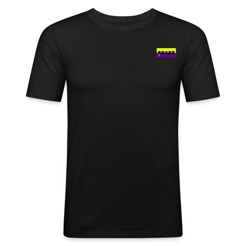 SNAKE LOGO - T-shirt près du corps Homme