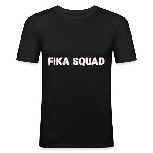 Fika Squad - Slim Fit T-shirt herr