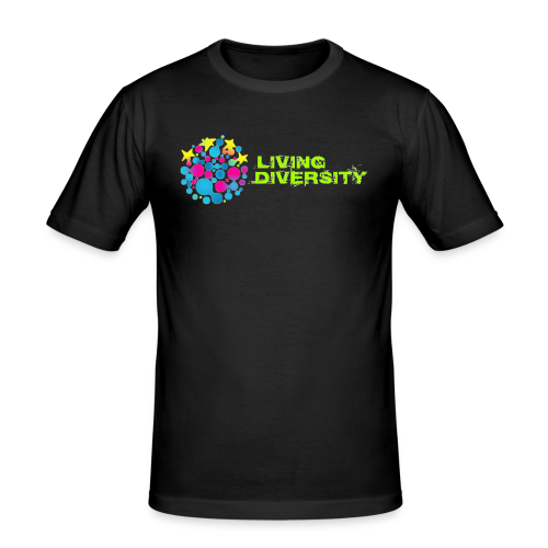 Living Diversity - Men's Slim Fit T-Shirt