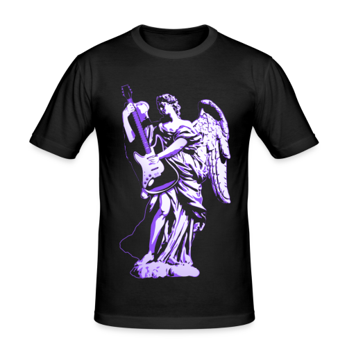 Engel 2018 paars - slim fit T-shirt