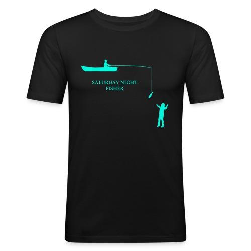 SATURDAY NIGHT FISHER - T-shirt près du corps Homme