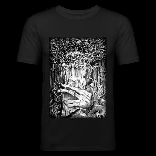 Mushroom Man - Obcisła koszulka męska