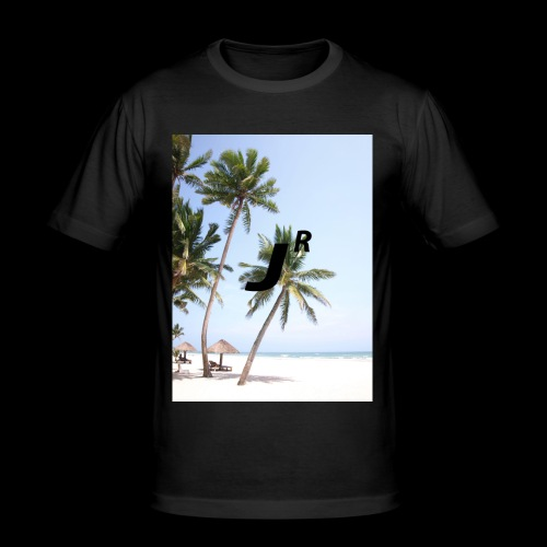 Palmtree-JR - Männer Slim Fit T-Shirt