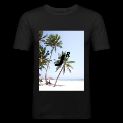 Palmtree-JR - Männer Slim Fit T-Shirt