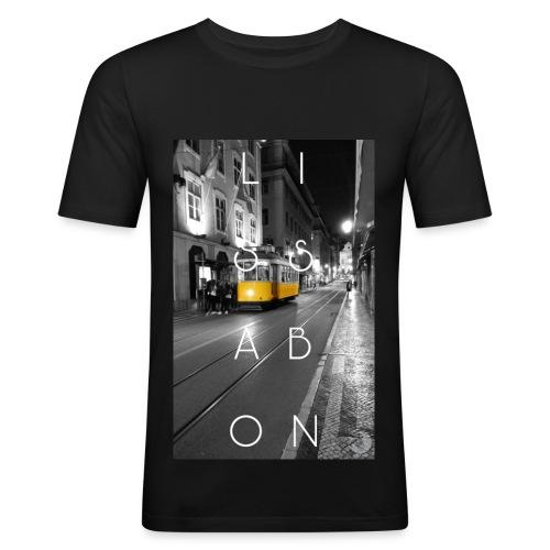 CITY Collection | Lissabon - Männer Slim Fit T-Shirt