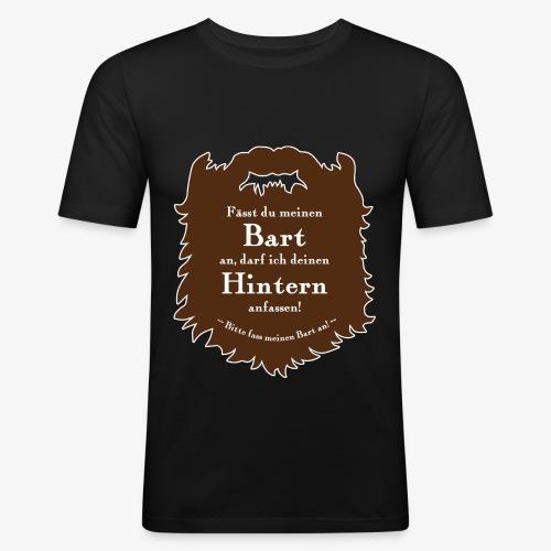 Bartregeln - Männer Slim Fit T-Shirt