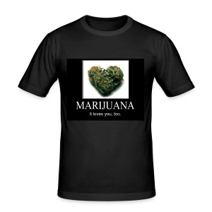 Marijuana - slim fit T-shirt