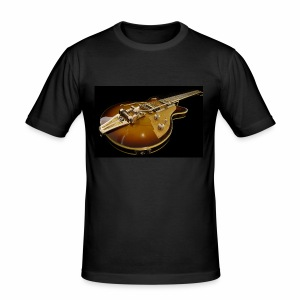 Guitar 1 - Männer Slim Fit T-Shirt