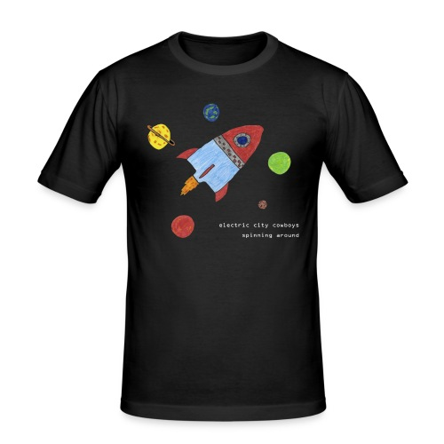 spaceship - Slim Fit T-shirt herr