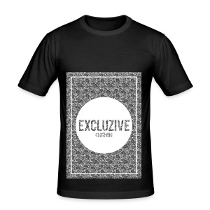 B-W_Design Excluzive - Men's Slim Fit T-Shirt