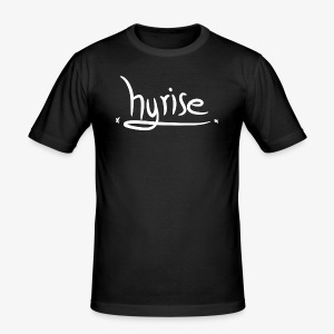 hyrisefont2 - Männer Slim Fit T-Shirt