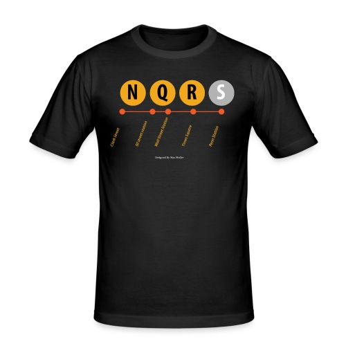 N ew York Metro - slim fit T-shirt