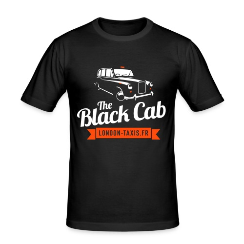 The Black Cab - T-shirt près du corps Homme