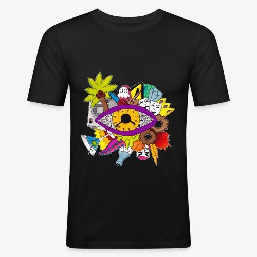 Uhrwerk - Männer Slim Fit T-Shirt