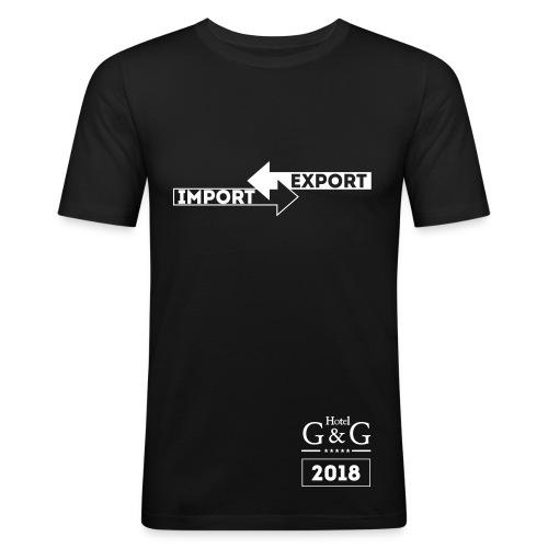 Hotel G&G Improt/Export 2018 - Männer Slim Fit T-Shirt