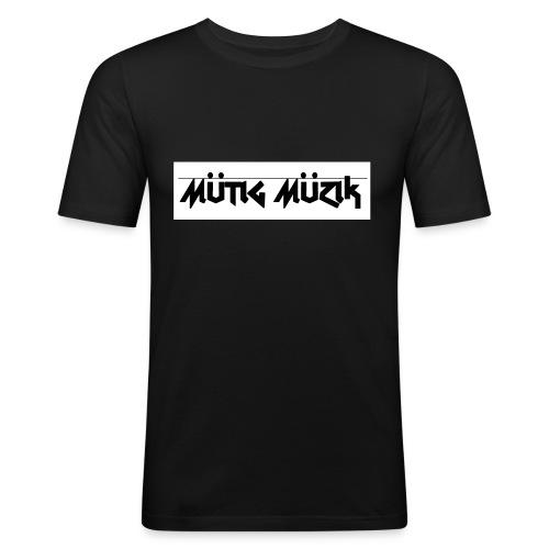 Mutig Muzik - Männer Slim Fit T-Shirt