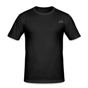 Collection black Hommes petit logo King Elias - Tee shirt près du corps Homme