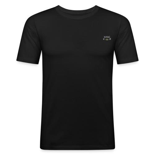 Collection black Hommes petit logo King Elias - T-shirt près du corps Homme