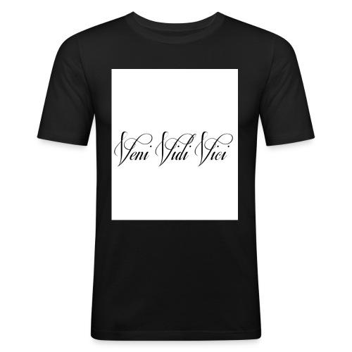 veni vidi vici - Men's Slim Fit T-Shirt