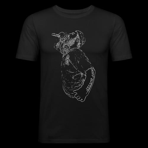 Metalcore Version. 1 Schwarz - Männer Slim Fit T-Shirt