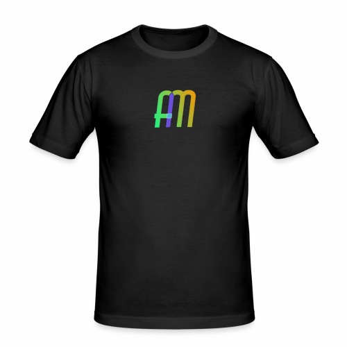 AM Logo - Men's Slim Fit T-Shirt