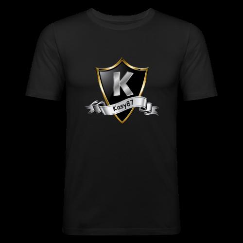 Kasy87 Merch - Männer Slim Fit T-Shirt