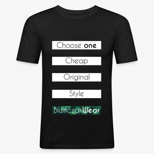 Choose one... - Obcisła koszulka męska