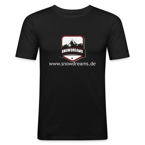 SnowDreams - Männer Slim Fit T-Shirt