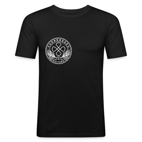 Vuorensaku WHITE - Miesten tyköistuva t-paita