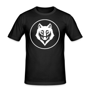 wolf - Männer Slim Fit T-Shirt