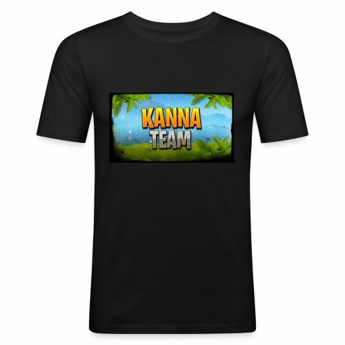 Logo Kanna_Team - T-shirt près du corps Homme