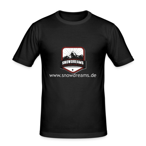 SnowDreams - Männer Slim Fit T-Shirt