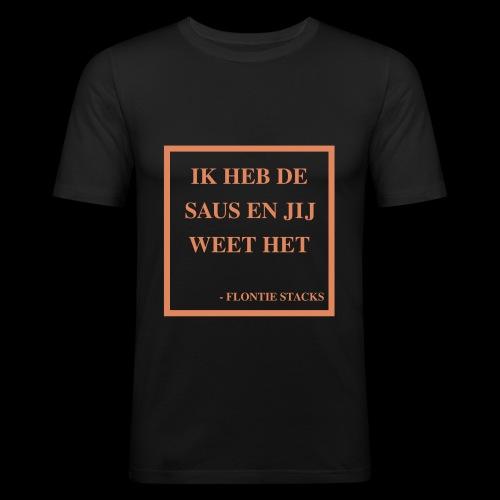 Saus - slim fit T-shirt