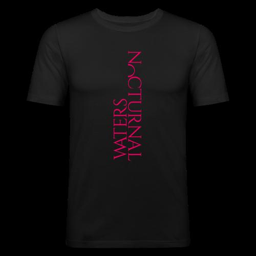 Easy Band logo Hot Pink - slim fit T-shirt