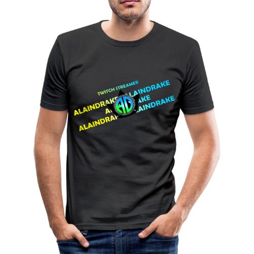 Alaindrake Twitch - Männer Slim Fit T-Shirt