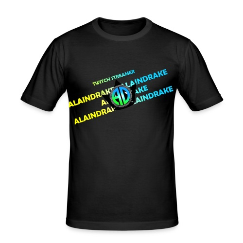 Alaindrake Twitch - Männer Slim Fit T-Shirt