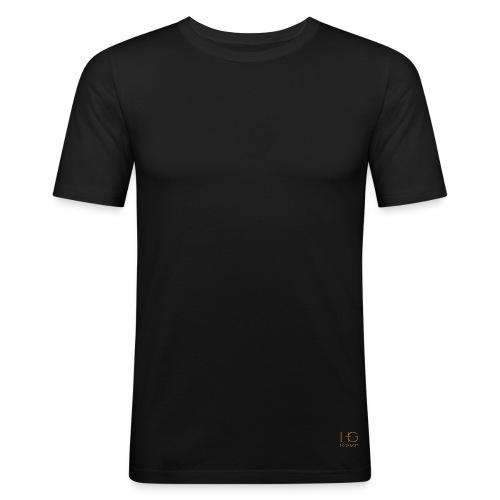 Hero + Gent - Männer Slim Fit T-Shirt