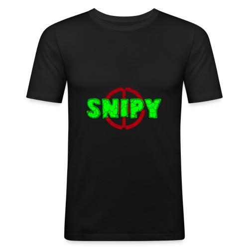 Snipy - Maglietta aderente da uomo