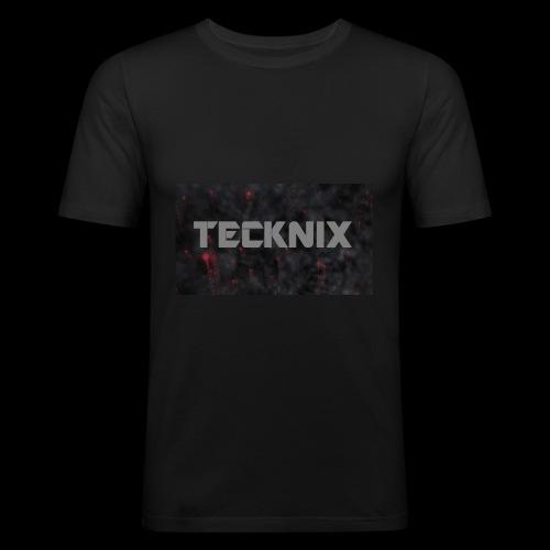 Tecknix - Männer Slim Fit T-Shirt