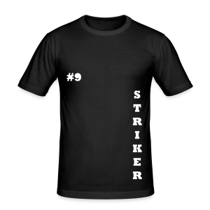 THE STRIKER #9 - Men's Slim Fit T-Shirt