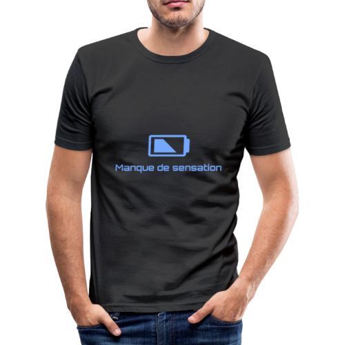 Manque de sensation - T-shirt près du corps Homme