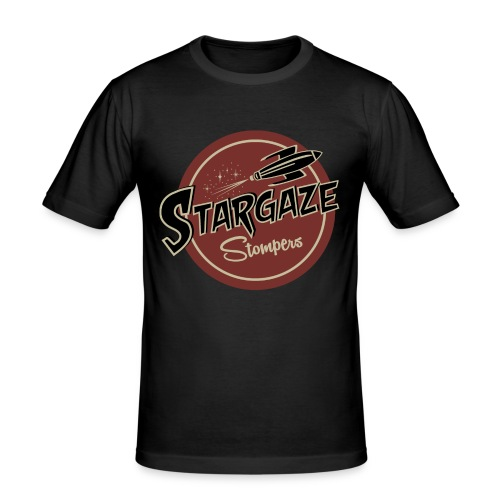 T Shirt Farbe Stargaze Stompers - Männer Slim Fit T-Shirt