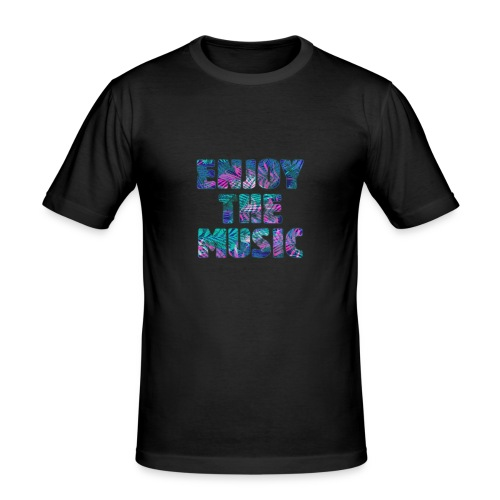 ENJOYTHEMUSIC PALMTREE - Camiseta ajustada hombre
