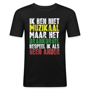 Drankorgel200DPI copy - slim fit T-shirt